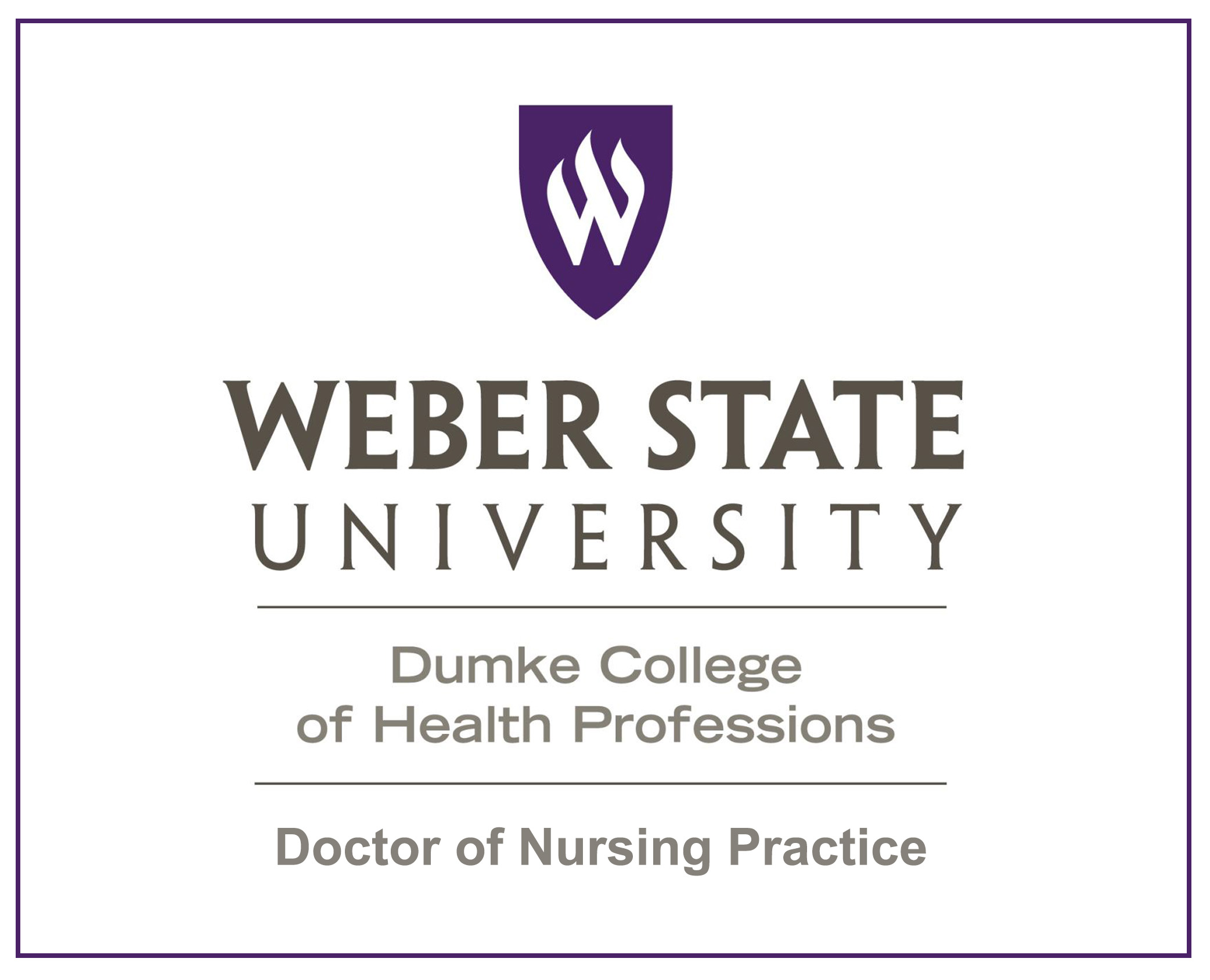 Weber State University Doctoral Projects